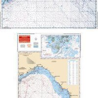 NW Florida Maxi Nautical Marine Charts - Waterproof Charts