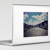 Let's Run Away II Laptop & iPad Skin by Leah Flores | Society6
