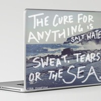 Salt Water Laptop &amp; iPad Skin by Leah Flores | Society6