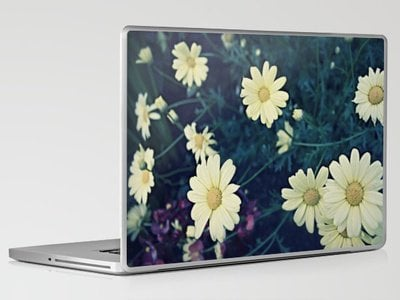 Flowers Polaroid Laptop &amp; iPad Skin by Leah Flores | Society6
