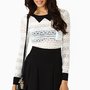Schoolgirl Lace Top