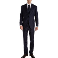 Andrea Campagna Chalk Stripe Suit at Barneys New York at Barneys.com