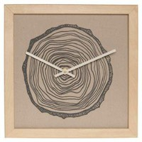 Urban Tree Clock in Stump | Mod Retro Vintage Wall Decor | ModCloth.com