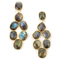 SHEILA FAJL No Color Labradorite Earrings