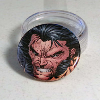 Comic Book 1.5&quot; Button// Wolverine