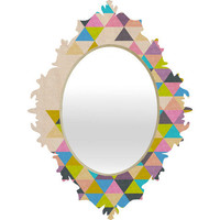 DENY Designs Home Accessories | Bianca Green Completely Incomplete Baroque Mirror