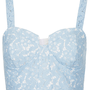 Lace Corset Bralet Top - Jersey Tops - Clothing - Topshop