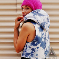 CALABASH DESIGN Hooded Viper Vest Size XS by CALABASHdesign