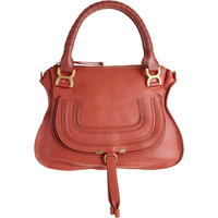 Chlo Marcie Medium Satchel with Strap at Barneys.com