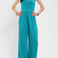 Urban Outfitters - Sparkle &amp; Fade Pleated-Bodice Strapless Jumper
