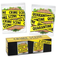 Crime Scene Sandwich Bags - Don't Touch my Sandwich!!