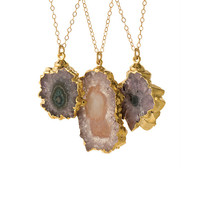Double V Stalactites Necklace | a-thread