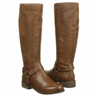 Women's Steve Madden  P-Trevor Brown Leather FamousFootwear.com