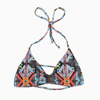 L*Space - Women's City Tribe Reversible Strap Back Top (Multi)