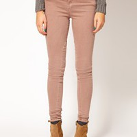 River Island Erin Coloured Skinny Jean at asos.com