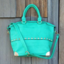 The Haven Tote in Mint, Sweet Bohemian Totes &amp; Bags