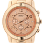 Accessories Boutique Watch Large Face in Rose Gold
