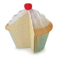 Kikkerland Design Inc    Products   Memo Pad Cupcake