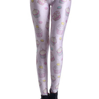 ROMWE | Cakes Print Leggings, The Latest Street Fashion