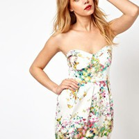Oh My Love Floral Dress at asos.com