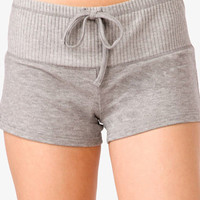 Ribbed Waist PJ Shorts | FOREVER 21 - 2000043688