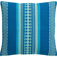 "saudades blue 16"" pillow"