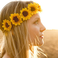 Sunflower Crown