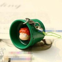New Cute Ponyo on the Cliff Cell Phone Strap