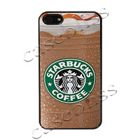Starbucks Caramel iPhone 4/4s Case - Black Plastic