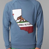 Cali Flag Crew Sweatshirt