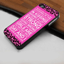 Audrey Hepburn Quote I Believe in Pink Leopard  - Hard Case Print for iPhone 4 / 4s case - iPhone 5 case - Black or White (Option Please)