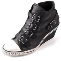 Ash Genial 4 Buckle Wedge Sneakers | SHOPBOP