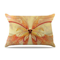 "Alison Coxon ""Papillon"" Pillow Case 