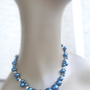 Midnight Moon Pearl Necklace