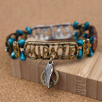 Have Faith Expect Miracle Stretch Bracelet