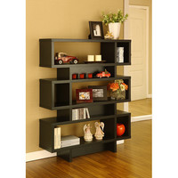 Tier Display Cabinet/ Bookcase | Overstock.com