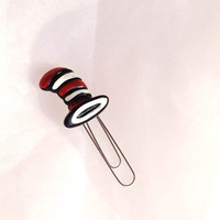Cat in the Hat Bookmark Gift Card Holder