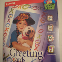 Canon Blank Greeting Cards &amp; Envelopes - NEW - Sealed