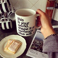 This is Your World Mug - $15