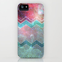 Chevron Galaxy iPhone & iPod Case by Belle13