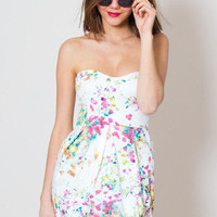 Spring Meadow Floral Tulip Dress | Oh My Love