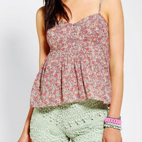 Urban Outfitters - Kimchi Blue Prairie Breeze Cami