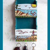 Mail / Key Holder Seaside Design
