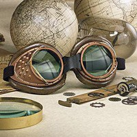 Steampunk Machinists Goggles                       - New Age & Spiritual Gifts at Pyramid Collection