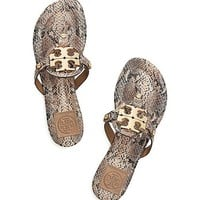 Snake Print Miller 2 Sandal