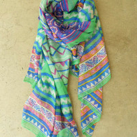 Mineral Creek Scarf [3793] - $16.00 : Vintage Inspired Clothing &amp; Affordable Summer Frocks, deloom | Modern. Vintage. Crafted.