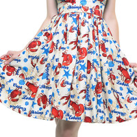 Lolita Girl Sailors Knot Day Dress - Unique Vintage - Prom dresses, retro dresses, retro swimsuits.