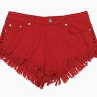 Insight - Women's Dipper Shorts (Techno Red)