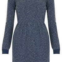 Boucle Long Sleeved Dress
