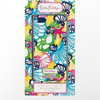 iPhone 5 Cover with Credit Card Slot - Lilly Pulitzer
